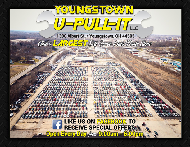Pull A Part Cleveland Ohio >> Auto Parts Youngstown U Pull It Youngstown Oh Youngstown